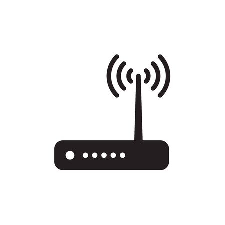Router Icon In Trendy Design Vector Eps 10