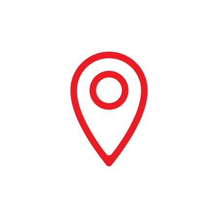 Location Icon In Trendy  Design Vector Eps 10 Çizim