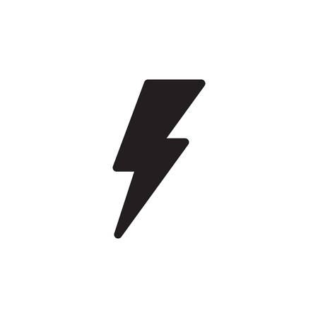 Flash Icon In Trendy Design