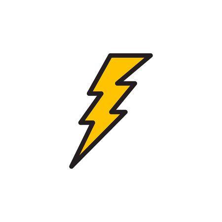 Flash Icon In Trendy Design Vector Eps 10 Vecteurs
