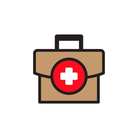 Medical Bag Icon In Trendy  Design Vector Eps 10