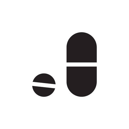 Pill Icon In Trendy Design