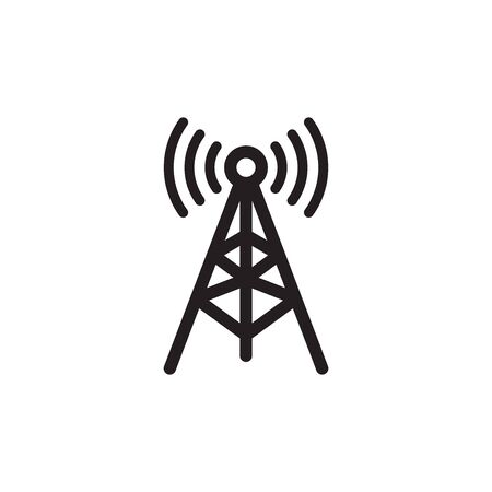 Antena Icon In Trendy Design Vector Eps 10