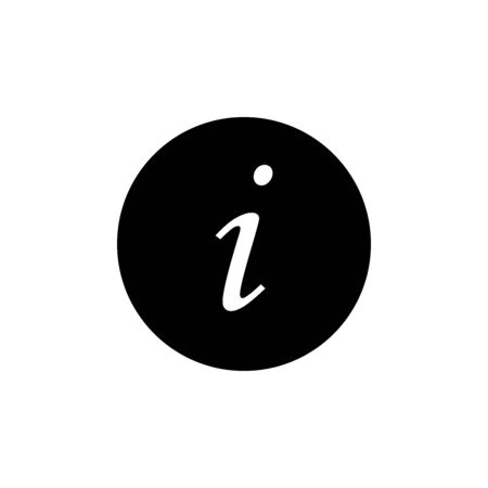 Information Icon In Trendy Design Vector