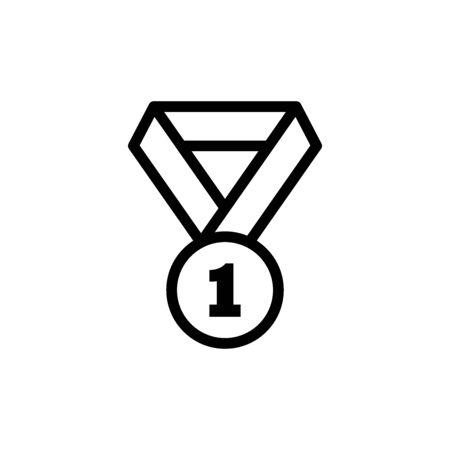 Medal Icon In Trendy Design Vector