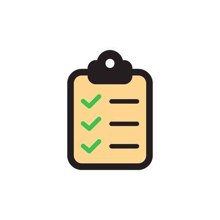 Clipboard Icon In Trendy Design Vector Eps 10
