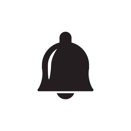 Bell Icon In Trendy Design Vector