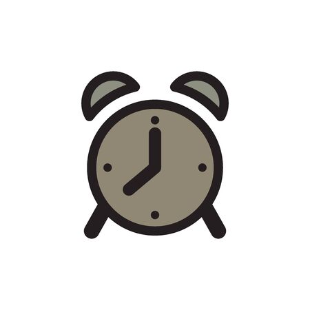 Alarm Clock Icon In Trendy Design Vector Eps 10