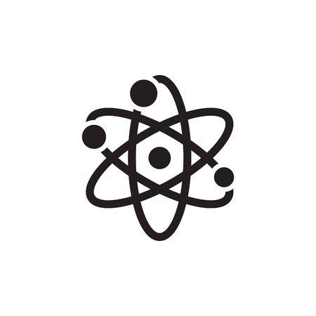 Atom Icon In Trendy Design Vector Eps 10