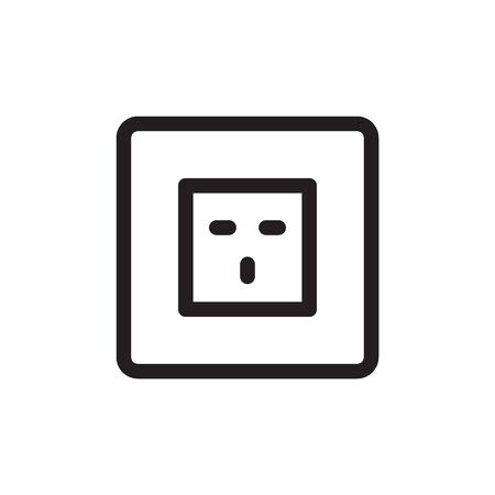 Socket Outlet Plug In Icon In Trendy Design Vector Eps 10