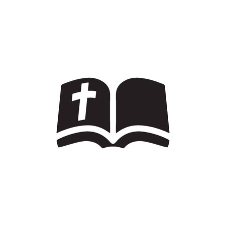 Bible Icon In Trendy Design Vector Eps 10