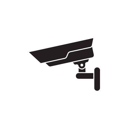 Fixed CCTV, Security Camera Icon In Trendy Design Vector Eps 10