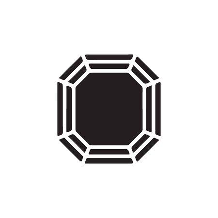 Diamond Icon In Trendy Design Vector Eps 10