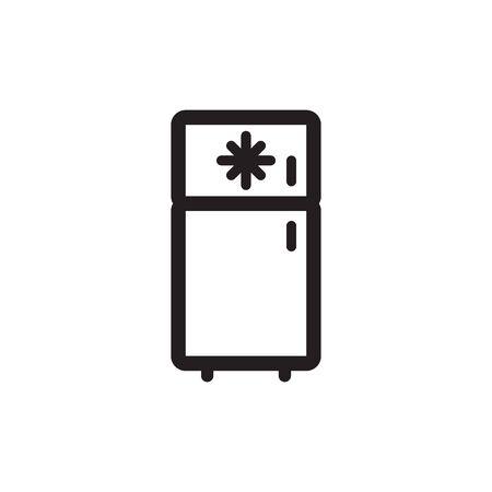 Freezer Icon In Trendy Design Vector Eps 10