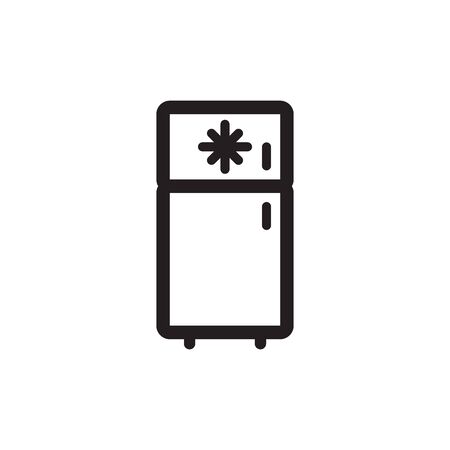 Freezer Icon In Trendy Design Vector Eps 10