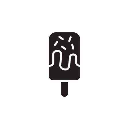 Ice Cream Icon In Trendy Design Vector