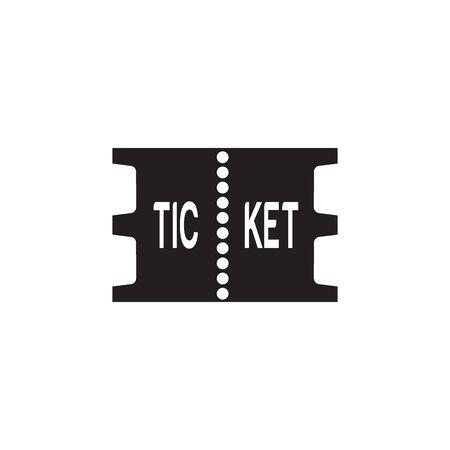 Ticket Icon In Trendy Design Vector Eps 10 Vektoros illusztráció