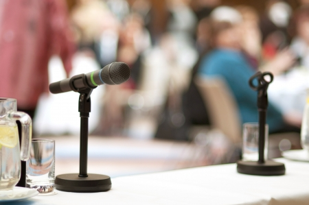 Indoor business conference for managers. Stock Photo - 16408358