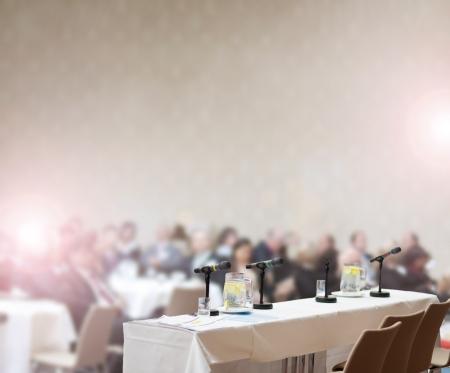 マネージャーのための屋内のビジネス会議 写真素材