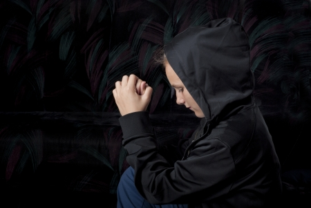 Sad teenager is in depression. Stock Photo - 16334662