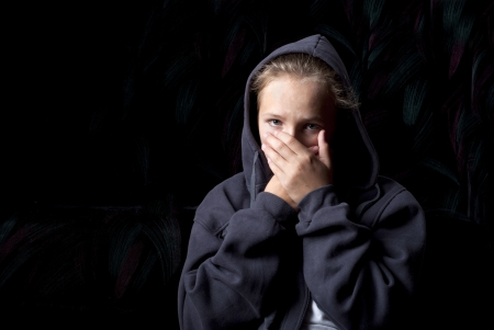 Sad teenager is in depression. Stock Photo - 16334671