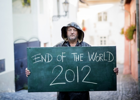 end of the world: End of the world Stock Photo