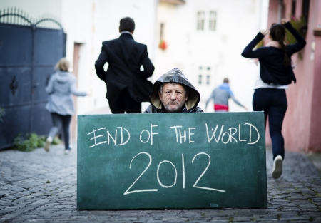 End of the world Stock Photo - 16334602