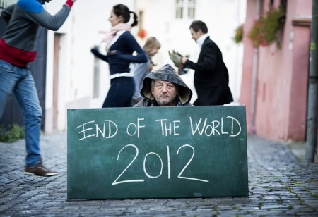 End of the world Stock Photo - 16327523