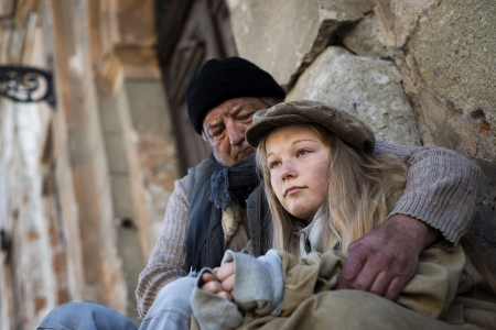 vagabundos: Familia sin hogar