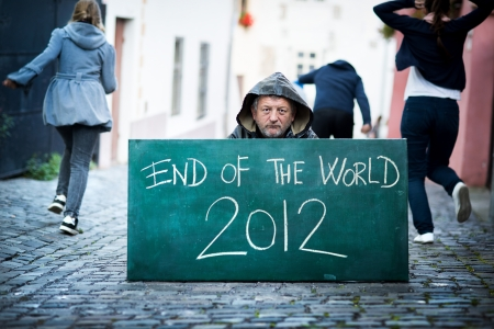 End of the world Stock Photo - 16436964