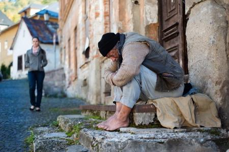 Homeless man Stock Photo - 16436961