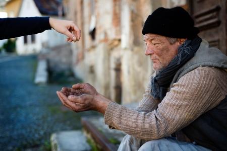 Begging hands Stock Photo - 16436940