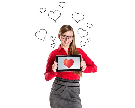 adult dating: Funny love in social media and internet communication.