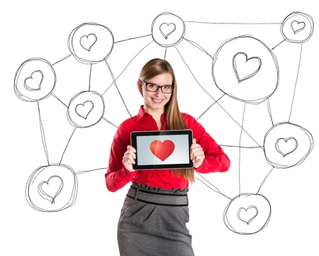 suitor: Funny love in social media and internet communication.