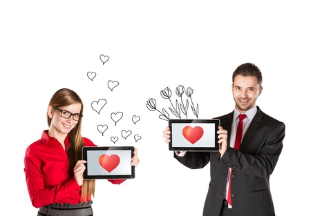 Funny love in social media and internet communication