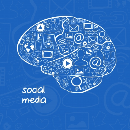 Social media vector illustration illustration
