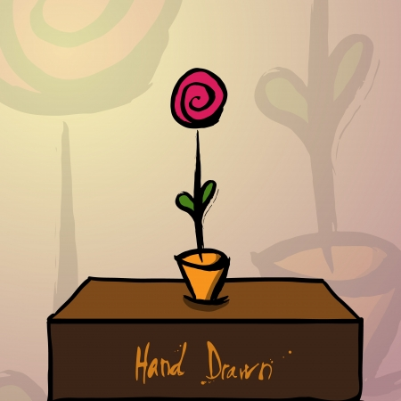 Vector illustration of flowers illustration