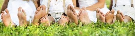 ногами: Счастливая семья
