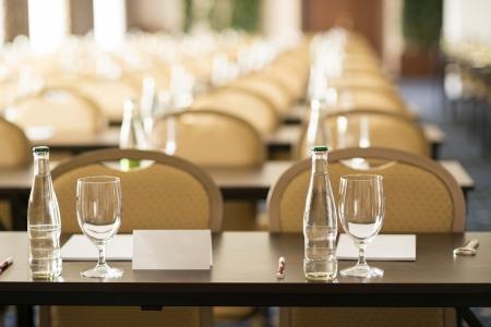 termine: Kongress-Saal ist bereit für Indoor-Business-Konferenz