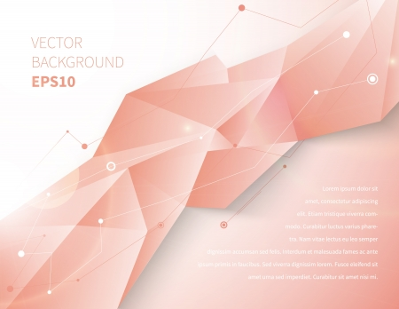 Modern abstract background illustration with design elements Vector