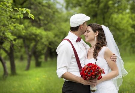 happily: Wedding portraits
