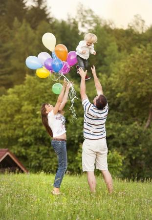 Happy family Stock Photo - 24258464