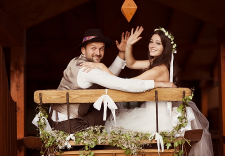 casamento: Noiva bonita e seu casamento em estilo country