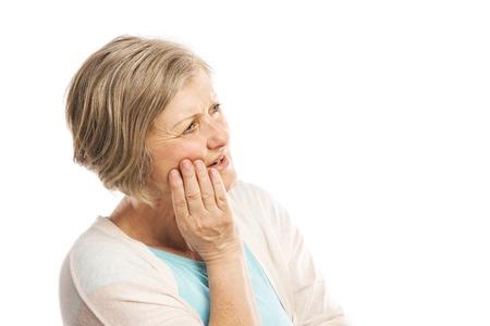 dolor de muelas: Superior de la mujer