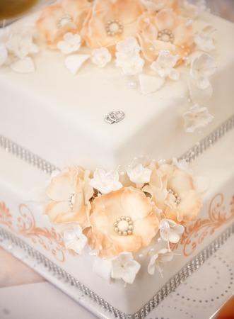Hochzeitstorte Standard-Bild - 27859579