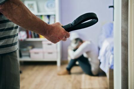 domestic abusive: Domestic violence Stock Photo