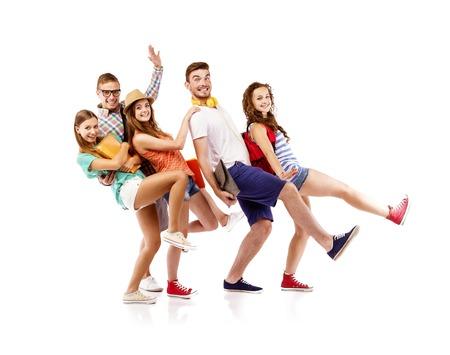 studium: Mladí přátelé