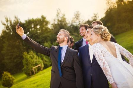 taking a wife: Wedding celebration