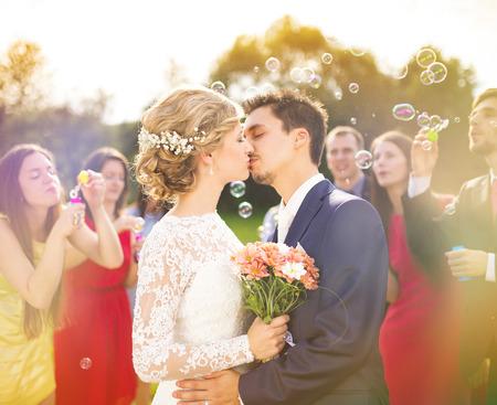 Wedding celebration photo