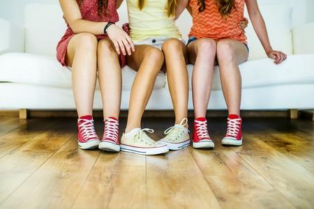 Jonge hipsters